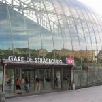 Gare de Strasbourg mit Glaskuppel
