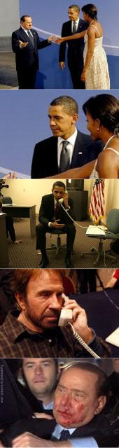 Obama vs. Berlusconi