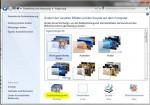 Nun auf 'Desktophintergrund' klicken